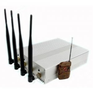 Cellular Signal 36W Energy Consumption Remote Control Jammer